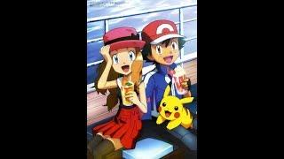 Pokemon amv sanam re 💖ash and serena 😍