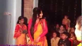 bengali girls dance with saree