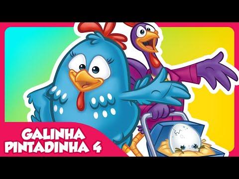 Galinha Pintadinha 4 DVD infantil Galinha Pintadinha 4
