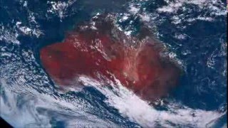 Australia, View From Himawari-8 Satellite [6 Day HD Timelapse]
