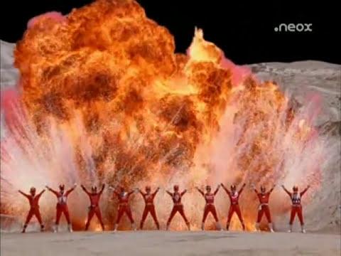Power Rangers Por siempre Rojo