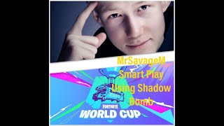 MrSavageM Smart Play Using Shadow Bomb In Fortnite World Cup Week 5
