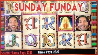 Cleopatra 2 Bonuses + Quick Hit ✦ SUNDAY FUNDAY ✦ Slot Machine Pokies at Pechanga and Woodbine!