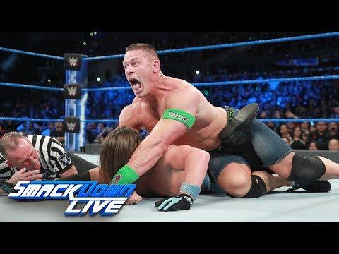 Xxx Mp4 Cena Vs Styles If Cena Wins He S In WWE Title Match At Fastlane SmackDown LIVE Feb 28 2017 3gp Sex