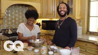 Ziggy Marley Cooks You Breakfast: Pancakes | GQ