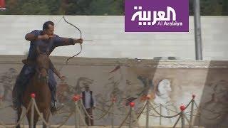 الرماية بالقوس رياضة تجذب الأردنيين