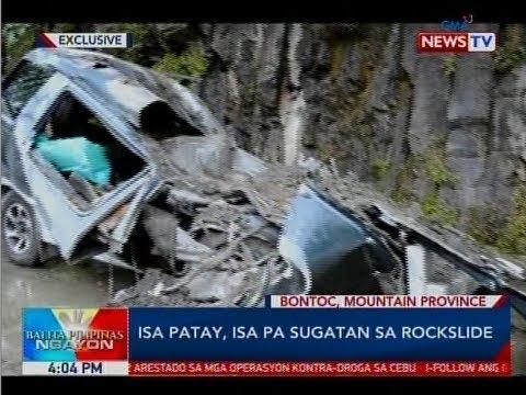 Xxx Mp4 BP Isa Patay Isa Pa Sugatan Sa Rockslide 3gp Sex