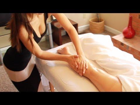 Sensual massage therapy technique