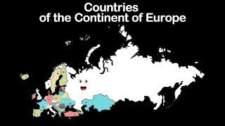 Countries of Europe/European Countries/European Countries Song/Countries of the Continent of Europe