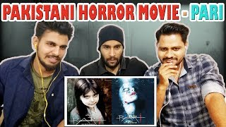 Indian Boys First time Watching Pakistani Horror Movie Trailer | Pari | Krishna Views