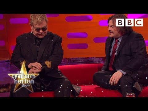 Xxx Mp4 Jack Black Asks Sir Elton John To Identify One Of His Own Songs The Graham Norton Show 3gp Sex
