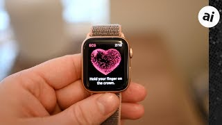 Hands On: How to Take An ECG Test on Apple Watch Series 4