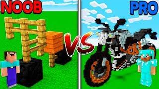 Minecraft NOOB vs PRO - BIKE RACE BATTLE in Minecraft!