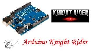 Arduino Knight Rider Karaşimşek devresi