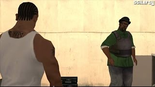 GTA San Andreas - Ending / Final Mission - End Of The Line