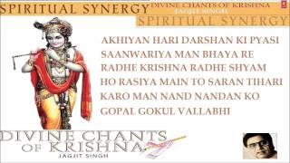 Krishna Janmashtami Bhajans Jagjit Singh I Divine Chants of Krishna I Full Audio Songs Juke Box