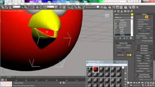 Creating 3D Angry Bird (Character Modeling) Using 3dsMax - ZiedNeji