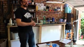 Acrylic Paint Making