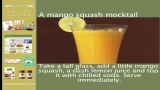 Instant Mango Squash