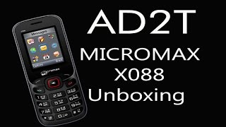 Micromax X088 Unboxing Sinhala
