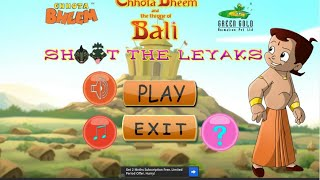Chhota Bheem shoot the leyaks android gameplay