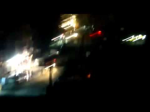 Aleppo Night Protest Met by Assad Gunfire   Salah al Deen 3 18 12