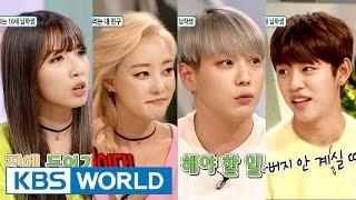 Hello Counselor - Kim Jisook, Ko Woori, Himchan&Daehyun (2016.03.21)