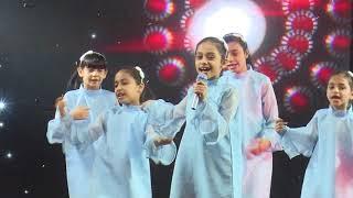قناة اطفال ومواهب الفضائية مهرجان توب سنتر بيشة اليوم الاول شوال 1439