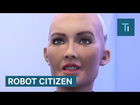 Xxx Mp4 Sophia The Humanoid Robot Just Became A Robot Citizen 3gp Sex