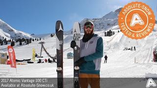 2016 / 2017 | Atomic Vantage 100 CTi Skis | Video Review