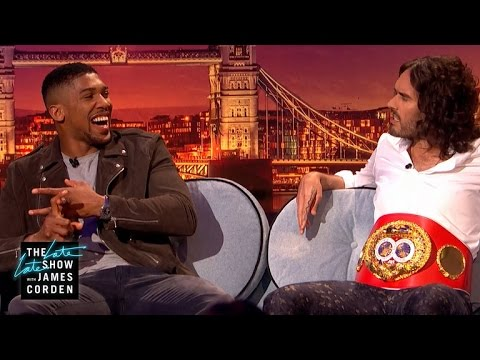 Russell Brand v Anthony Joshua: Who Can Abstain from Sex Longer?