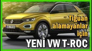 VW TROC  haber ve ilk tanıtım videosu - Frankfurt Otomobil Fuarı 2017