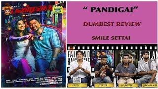 Pandigai Movie Review   Dumbest Review   Kreshna, Anandhi   Smile Settai