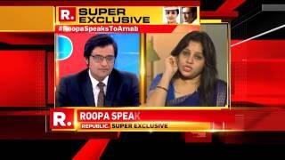 Roopa on Sasikala's Privileges