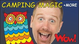 Camping Magic English Stories for Kids from Steve and Maggie | Learn English with Wow English TV
