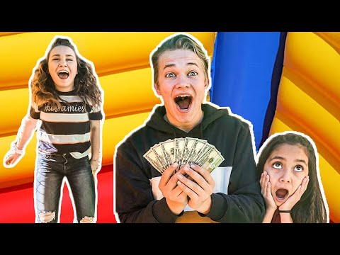 Last To Leave The BOUNCE HOUSE Wins 1000