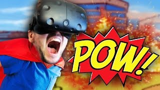 BECOME A REAL SUPERHERO | Powers VR (HTC Vive Virtual Reality)