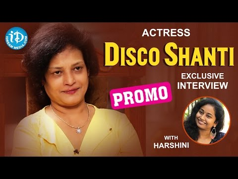 Actress Disco Shanti Exclusive Inteview PROMO || Talking Movies With iDream