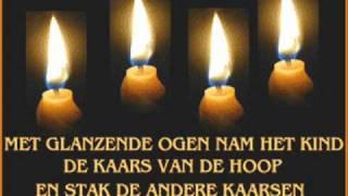 de vier kaarsen * de vlam van de hoop !