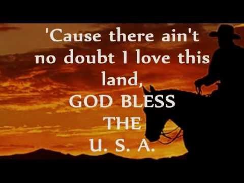 watch GOG BLESS THE U.S.A. (Lyrics) - LEE GREENWOOD