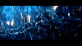 Lord of The Rings - Battle of Helms Deep Opening