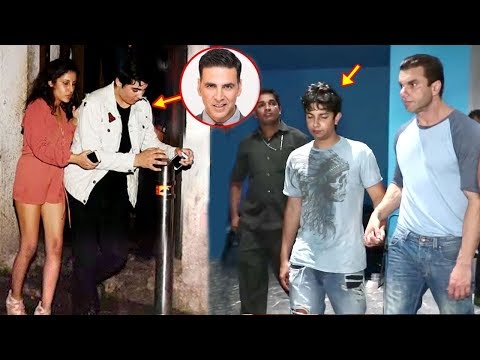 Xxx Mp4 Bollywood Celeb Kids CAUGHT Drunk In Public Sohail Khan SonAkshay Kumar Son AaravSaif Son 3gp Sex