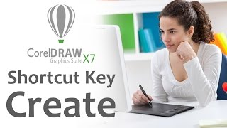 How To Creat Shortcut Key In Coreldraw X7 in hindi speech