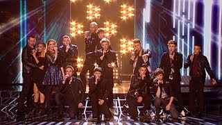 The finalists sing Usher's Without You - Live Week 4 - The X Factor UK 2012