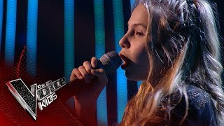 Charlotte performs 'The Greatest': Blinds 1 | The Voice Kids UK 2017