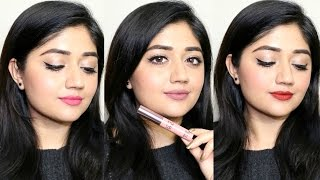 Lakme 9-to-5 Weightless Matte Lip & Cheek Mousse | Swatches + Review | corallista