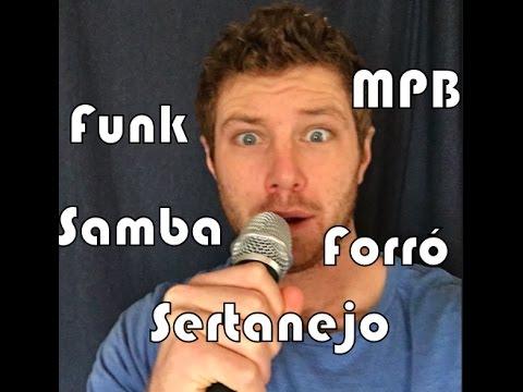 Como Aprendi Português com Música