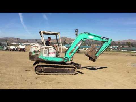 IHI 55J Mini Excavator,