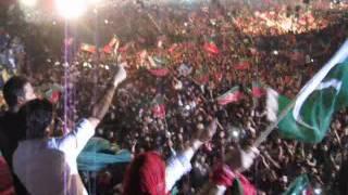 Strings - Main Tu Daikhon Ga - PTI Jalsa at Minar-e-Pakistan