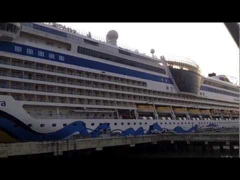 Aida Diva Cruise Ship - Luxury Cruise Ship Aida Diva At Indian Port Kochi